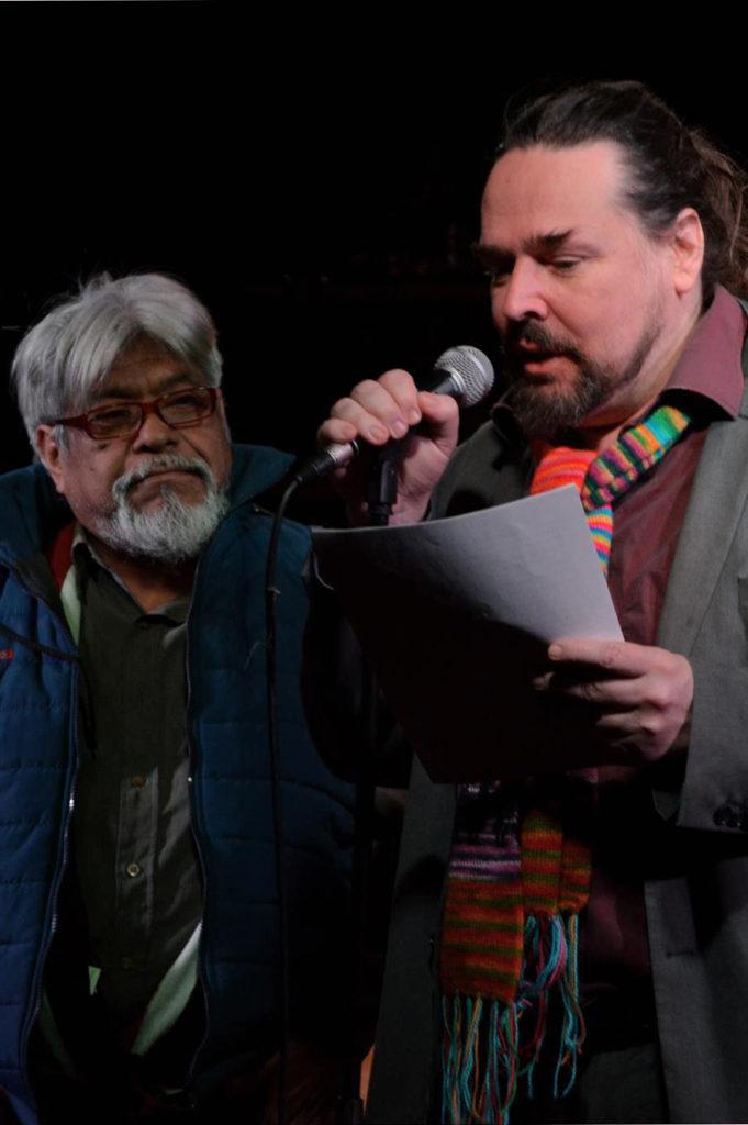 Domingo de Ramos ja Esa Hirvonen. Kuvaaja: Ahmed Zaidan