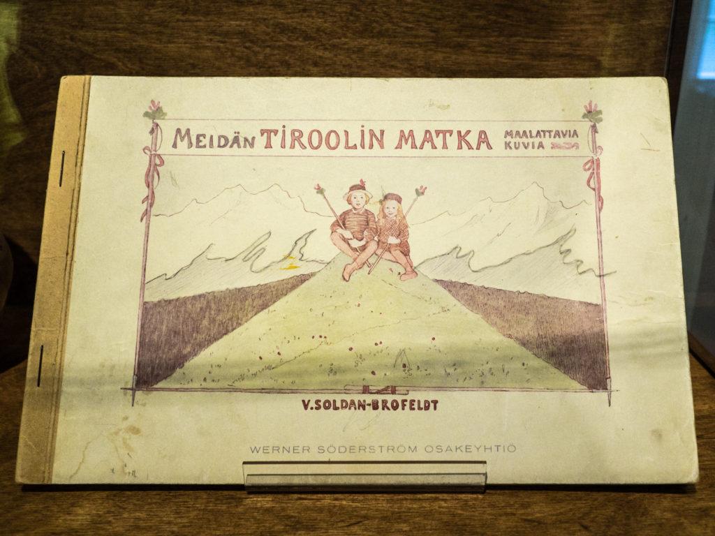 Venny Soldan-Brofeldtin tekemä värityskirja